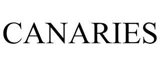 CANARIES trademark