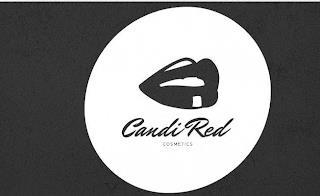 CANDI RED COSMETICS trademark