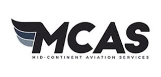 MCAS MID-CONTINENT AVIATION SERVICES trademark