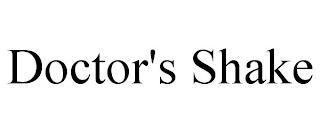 DOCTOR'S SHAKE trademark