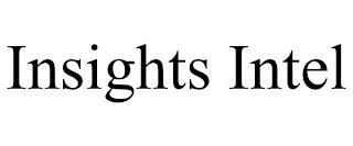 INSIGHTS INTEL trademark