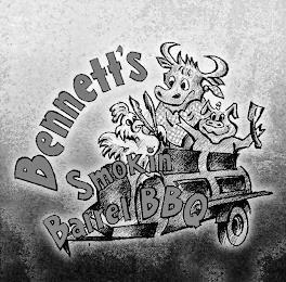 BENNETT'S SMOKIN BARREL BBQ trademark