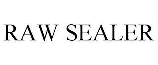 RAW SEALER trademark