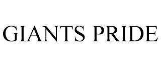 GIANTS PRIDE trademark