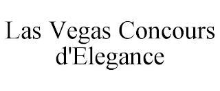 LAS VEGAS CONCOURS D'ELEGANCE trademark