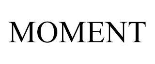 MOMENT trademark