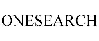 ONESEARCH trademark