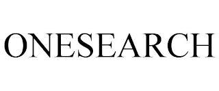ONESEARCH trademark