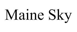 MAINE SKY trademark