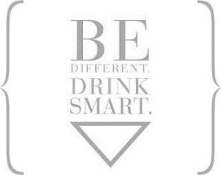 BE DIFFERENT. DRINK SMART. trademark
