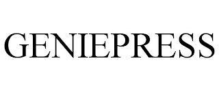 GENIEPRESS trademark