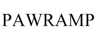 PAWRAMP trademark