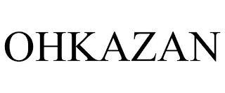 OHKAZAN trademark