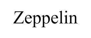 ZEPPELIN trademark