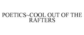 POETICS~COOL OUT OF THE RAFTERS trademark