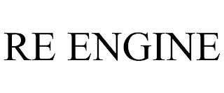 RE ENGINE trademark