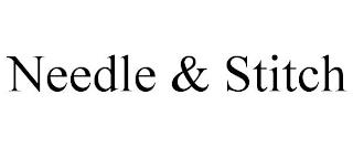 NEEDLE & STITCH trademark