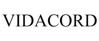 VIDACORD trademark