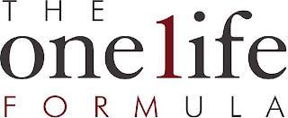 THE ONE1IFE FORMULA trademark