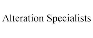 ALTERATION SPECIALISTS trademark