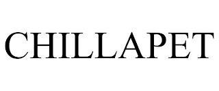 CHILLAPET trademark