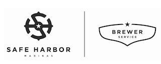 SAFE HARBOR MARINAS BREWER SERVICE trademark