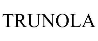 TRUNOLA trademark