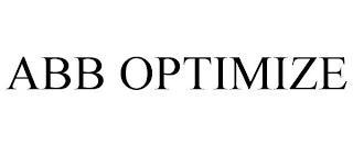 ABB OPTIMIZE trademark