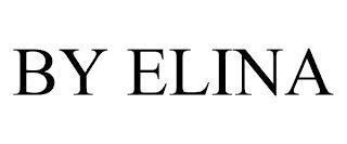 BY ELINA trademark