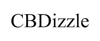 CBDIZZLE trademark