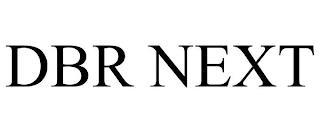 DBR NEXT trademark