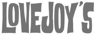 LOVEJOY'S trademark