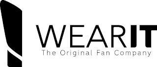 WEARIT THE ORIGINAL FAN COMPANY trademark