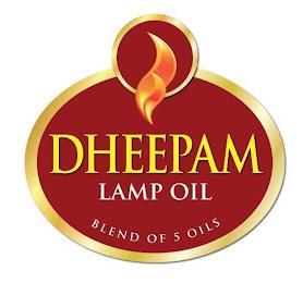 DHEEPAM LAMP OIL BLEND OF 5 OILS trademark