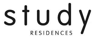 STUDY RESIDENCES trademark