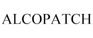 ALCOPATCH trademark