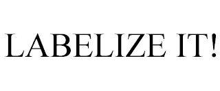 LABELIZE IT! trademark