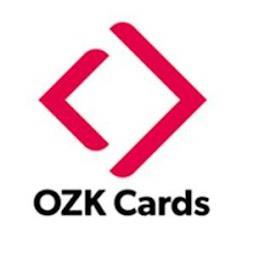 OZK CARDS trademark