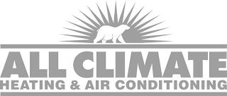 ALL CLIMATE HEATING & AIR CONDITIONING trademark