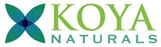 KOYA NATURALS trademark