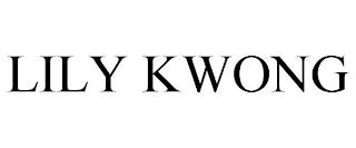 LILY KWONG trademark