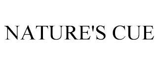 NATURE'S CUE trademark