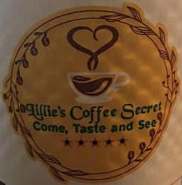 LILLIE'S COFFEE SECRET COME, TASTE AND SEE trademark