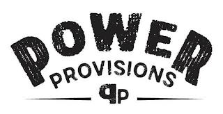 POWER PROVISIONS PP trademark