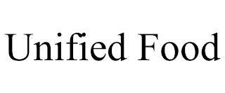 UNIFIED FOOD trademark
