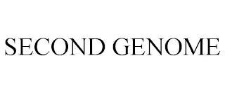 SECOND GENOME trademark