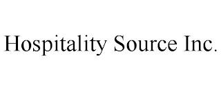 HOSPITALITY SOURCE INC. trademark
