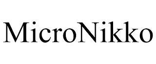 MICRONIKKO trademark