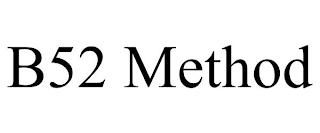 B52 METHOD trademark