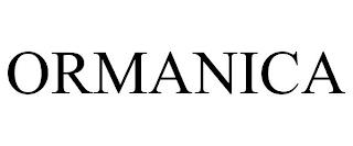 ORMANICA trademark